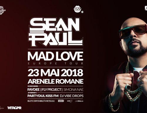 Campania Concert Sean Paul la Arenele Romane – 23 Mai