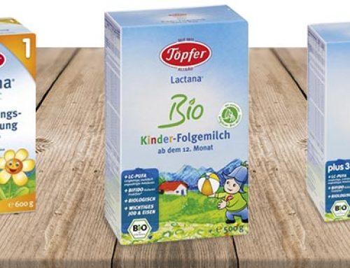 Campania Lapte praf Topfer de la magazinul online bebelusultau.ro