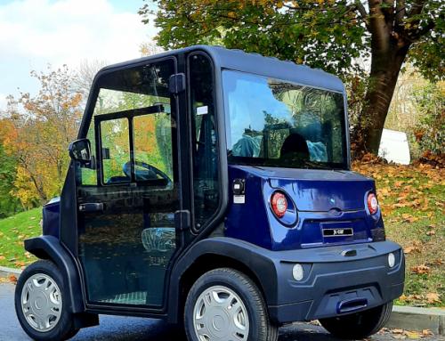 Campania masini electrice Evolio